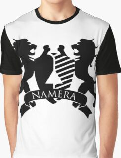 NAMERA CREST ▽ Graphic T-Shirt