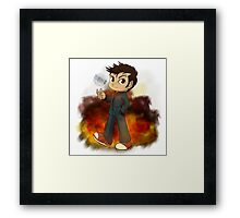 I'm THE Doctor, and you are? Framed Print
