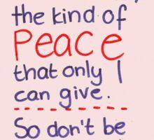 John 14: Peace Sticker