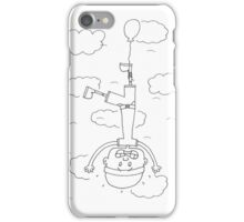 Flying Down or Falling Up iPhone Case/Skin