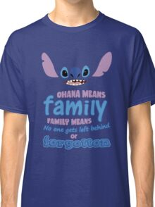 STITCH - Ohana Means Family Classic T-Shirt