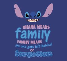 STITCH - Ohana Means Family Unisex T-Shirt