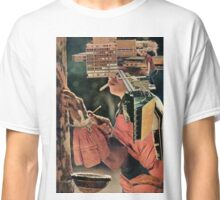 The Visionary Builder Tasting His Foundation. Classic T-Shirt