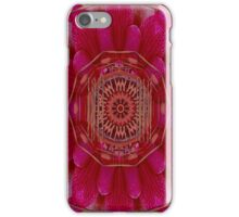 Mandala With real stuff decorative iPhone Case/Skin