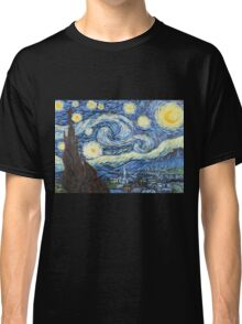 Van Gogh - Starry Night Classic T-Shirt