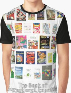 The Book of International Exposition - EXPO - Guidebooks Graphic T-Shirt