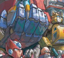 Megaman X Transformers Sticker