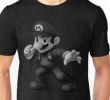 B&W Mario Unisex T-Shirt