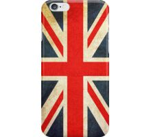 Vintage Union Jack British Flag iPhone Case/Skin