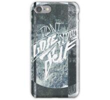 DONT LOSE YOURSELF ▽ iPhone Case/Skin