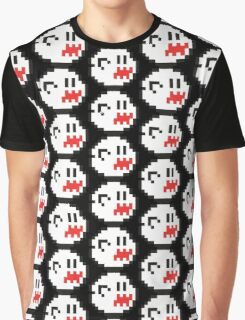 8-Bit Boo Graphic T-Shirt