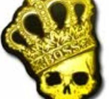 Crown foil sticker Sticker