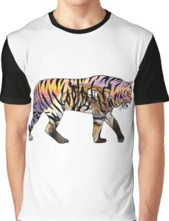 Tiger 1 White Graphic T-Shirt