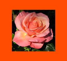Sunkissed Orange Rose in Semi Profile T-Shirt