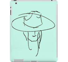 James Bay Inspired Outline Product Blue + Black iPad Case/Skin