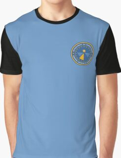 Department of Redactions - Federal Bureau of Omissions Graphic T-Shirt