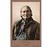 Geronimo 1898 Photographic Print