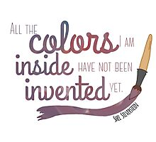 All the Colors I am Inside Photographic Print