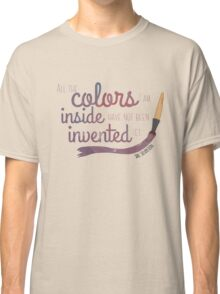 All the Colors I am Inside Classic T-Shirt