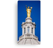 Wisconsin - atop the Capitol, Madison  Canvas Print