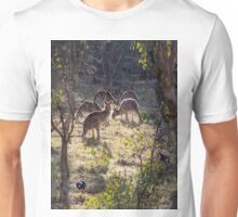 Kangaroos and Magpies - Canberra - Australia Unisex T-Shirt
