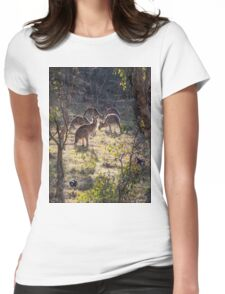 Kangaroos and Magpies - Canberra - Australia Womens Fitted T-Shirt