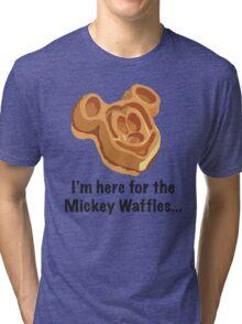 Mickey Waffle Tri-blend T-Shirt