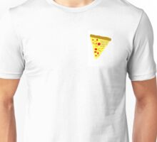 Pizza is never perfect and neither are people Unisex T-Shirt