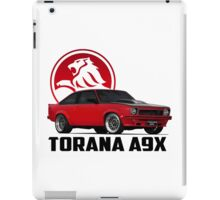 Holden Torana - A9X Hatchback - Red 2 iPad Case/Skin