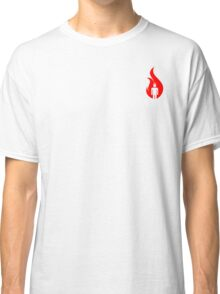 Beer Belly Mens Room Small Logo Red Classic T-Shirt