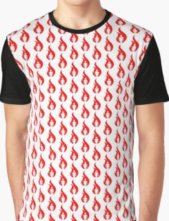 Beer Belly Mens Room Small Logo Red Graphic T-Shirt