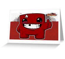 Super Meat Boy Greeting Card