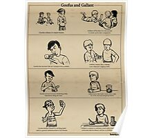 goofus and gallant Poster