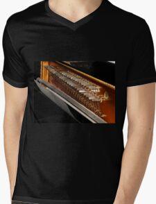 Inside The Piano Mens V-Neck T-Shirt