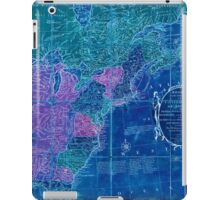 American Revolutionary War Era Maps 1750-1786 353 Bowles's new pocket map of the United States of America the British possessions of Canada Nova Scotia and Inverted iPad Case/Skin