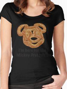 Mickey Pretzel Women's Fitted Scoop T-Shirt