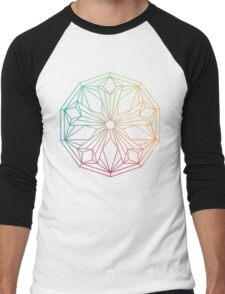 Mandala Men's Baseball ¾ T-Shirt