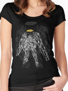 ガンダムパートII (Gundam Part II) Women's Fitted Scoop T-Shirt