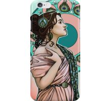 Lady Peahen iPhone Case/Skin