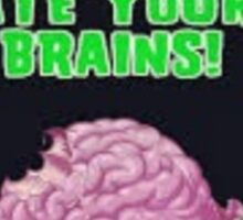Pvz Zombies ate your brains  Sticker