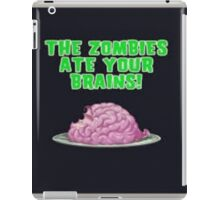 Pvz Zombies ate your brains  iPad Case/Skin
