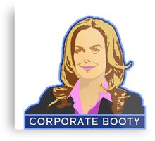 Corporate Booty Metal Print