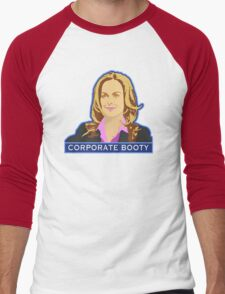 Corporate Booty Men's Baseball ¾ T-Shirt