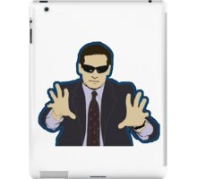 Blind Guy McSqueezy iPad Case/Skin