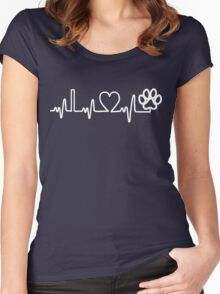 Paw Lifeline Women's Fitted Scoop T-Shirt