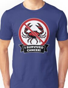 I Survived Cancer Funny Men's Tshirt Unisex T-Shirt