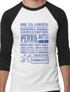 La Biblioteca Rap - Community Men's Baseball ¾ T-Shirt