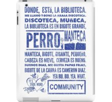 La Biblioteca Rap - Community iPad Case/Skin