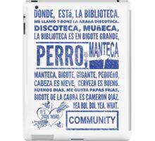 La Biblioteca Rap - Community iPad Case/Skin