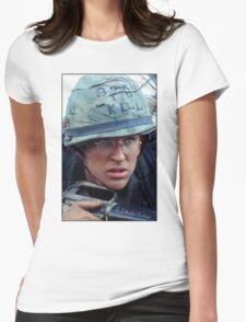 Full Metal Jacket 1 Womens Fitted T-Shirt